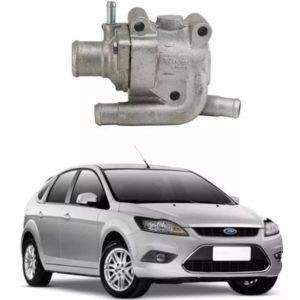 Carcaça Da Válvula Termostática Ford Focus Zetec 1.8 - 2.0 - 16v