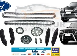 Kit Corrente Distribuição Ranger 3.0 Power Stroke 2005-2012