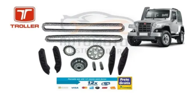 Kit Corrente Distribuição Troller 3.0 Power Stroke 2005-2012